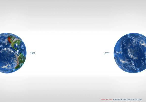Социальная реклама о проблеме изменения климата