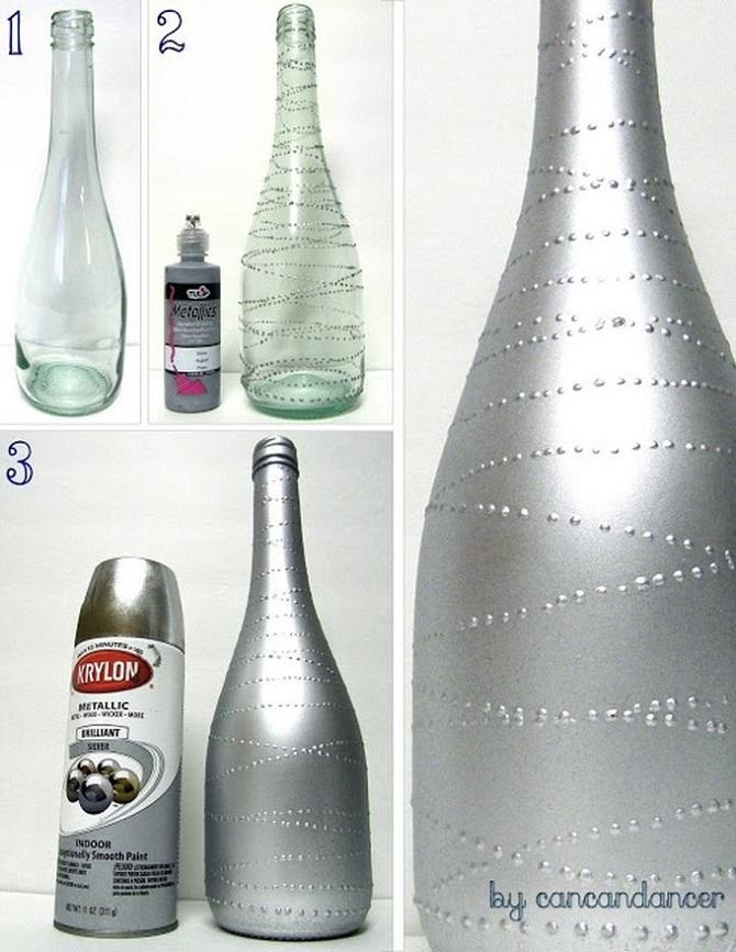 11 способов дать старым бутылкам новую жизнь