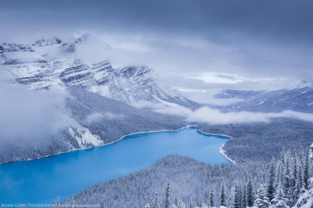 Красота мест, где зима сказочно прекрасна