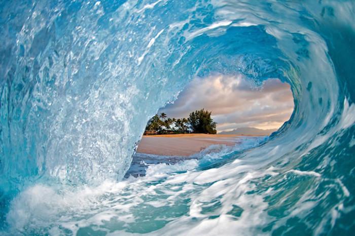 Океанские волны на фотографиях Кларка Литтла
