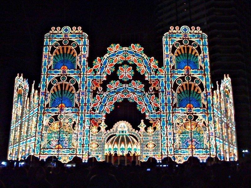 Фестиваль света в Кобе
