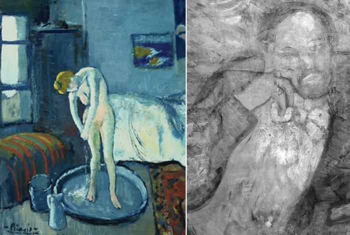 Шесть известных полотен, на которых скрываются другие изображения