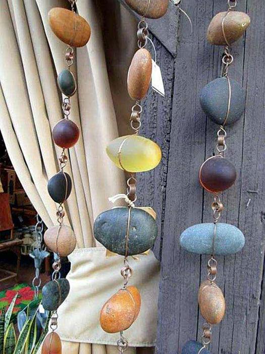 20 фантастических идей, для украшения сада камнями