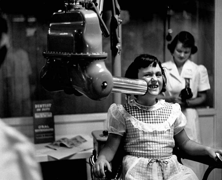 Первые пациенты на рентгене