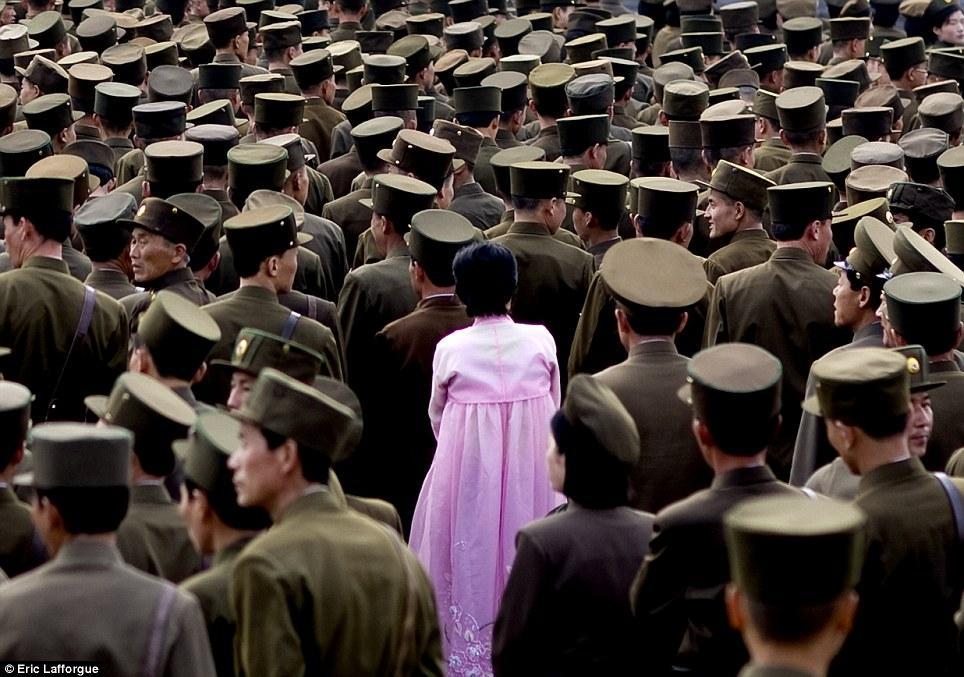 Северная Корея, снятая скрытой камерой