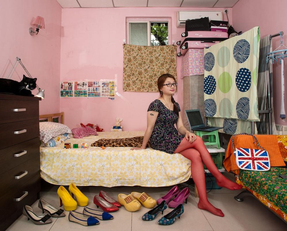 Спальни девушек из разных стран