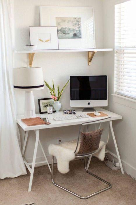 23 очень стильных домашних офиса в маленьких жилищах
