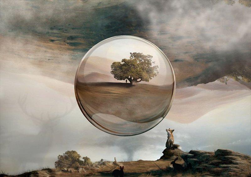 Фотореалистичные картины, написанные пальцами на дисплее
