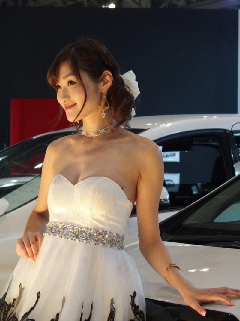 Красивые девушки токийского автосалона
