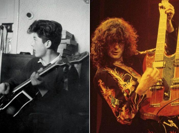 Культовые рок-звезды в детстве и юности