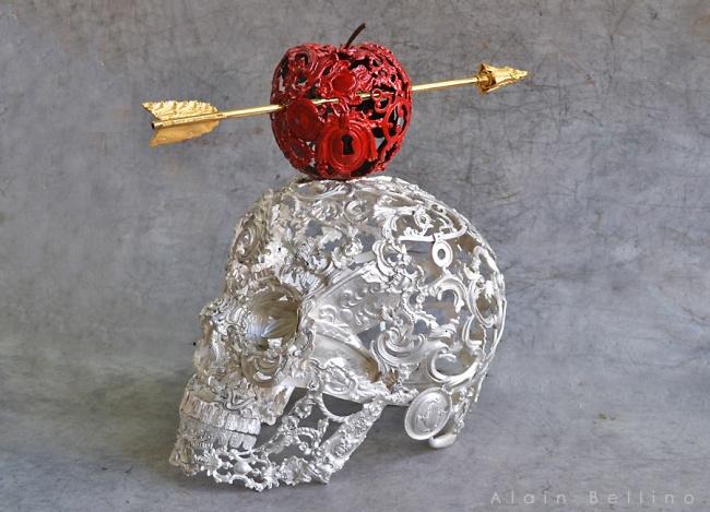 Ален Беллино объединил стимпанк и классическое искусство