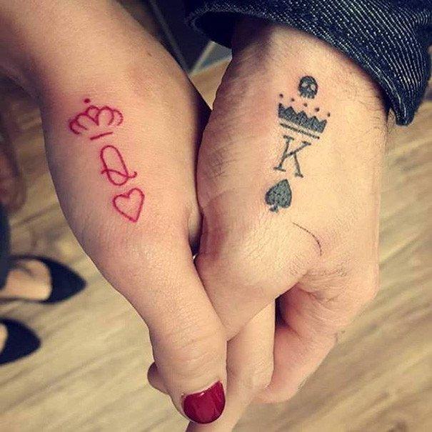 Элегантные минималистичные татуировки