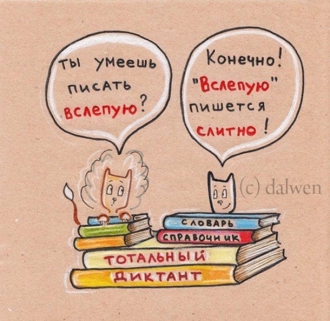 Грамотные котики в иллюстрациях Анны Беловицкой