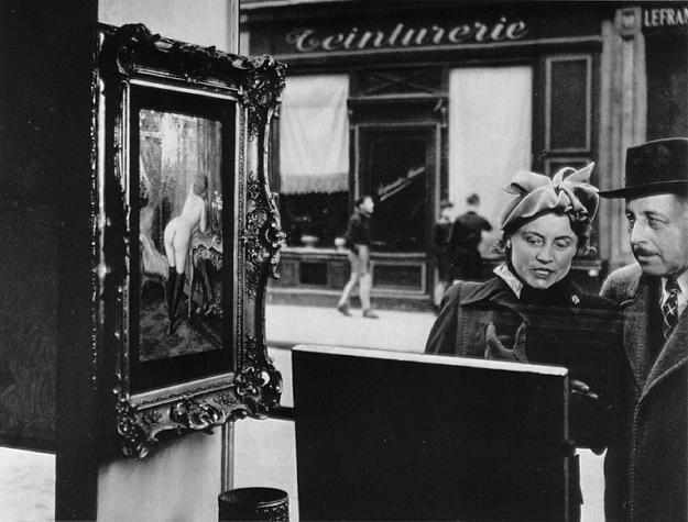 Париж в середине прошлого века от фотографа Робера Дуано
