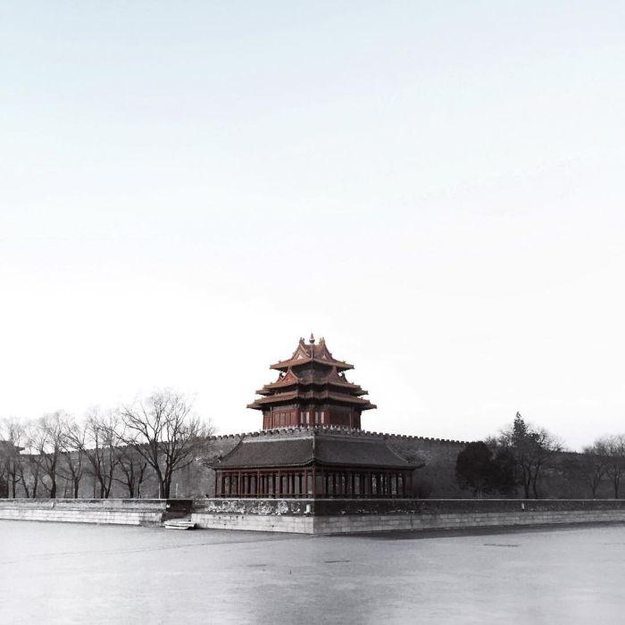 Безлюдный Пекин в канун Китайского Нового года