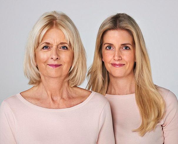 Фотопроект, доказывающий, что каждая женщина с возрастом превращается в свою мать