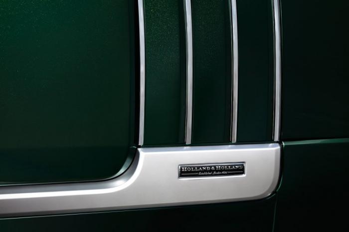 Роскошный внедорожник Range Rover для поездок на охоту