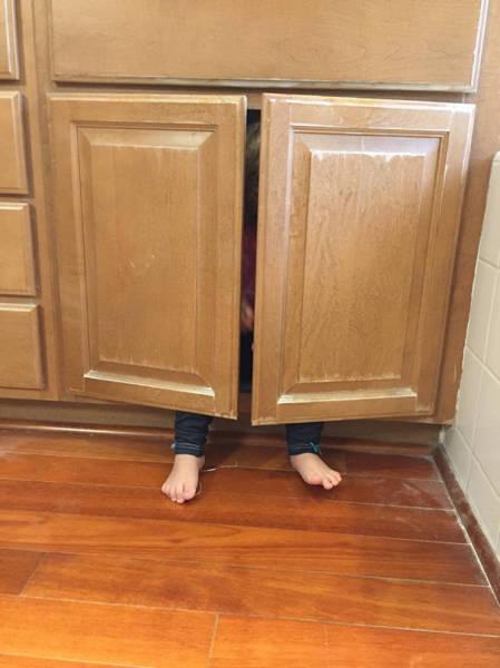 Когда дети плохо играют в прятки