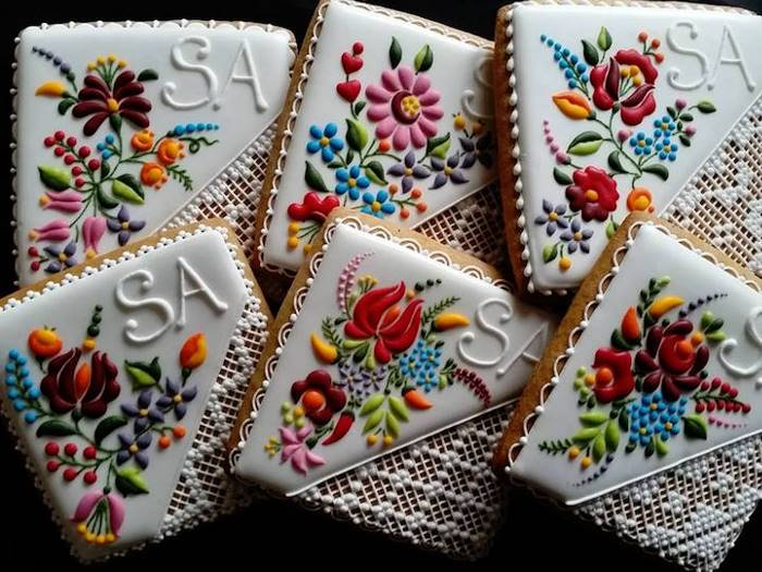 Печенье с удивительно красивыми рисунками