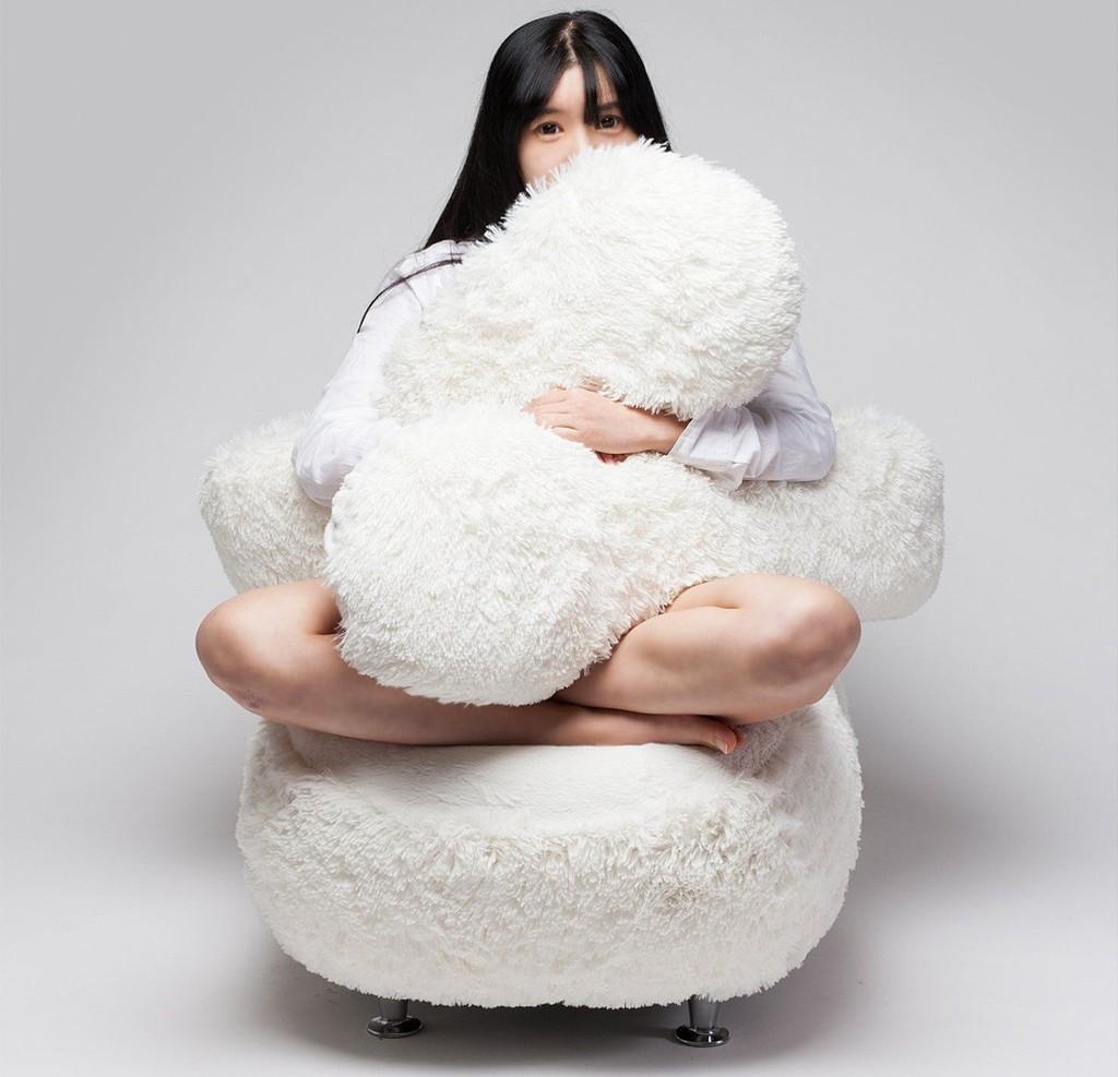 Кресло для обнимашек от корейского дизайнера