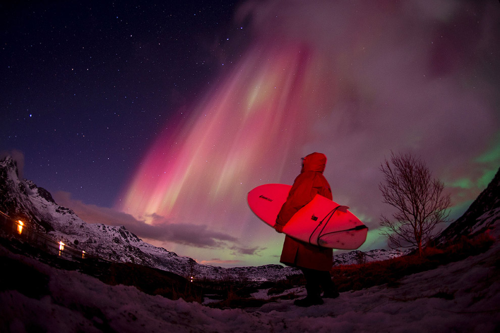 Экстремальные арктические серферы