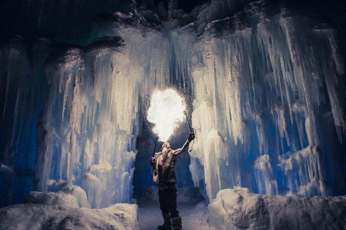 Ледяные замки по технике Брента Кристенсена