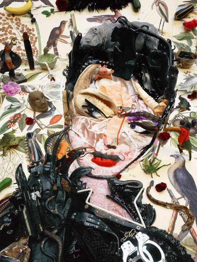 Удивительные портреты из хлама от Бернара Пра