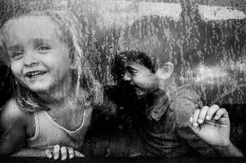 Чёрно-белые детские фотографии с конкурса Black and White Child Photo Contest 2015