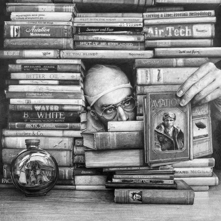Реалистичные карандашные рисунки от Итана Мурроу