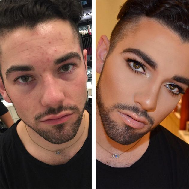 Мужчины начали осваивать косметику, чтобы добавить себе привлекательности