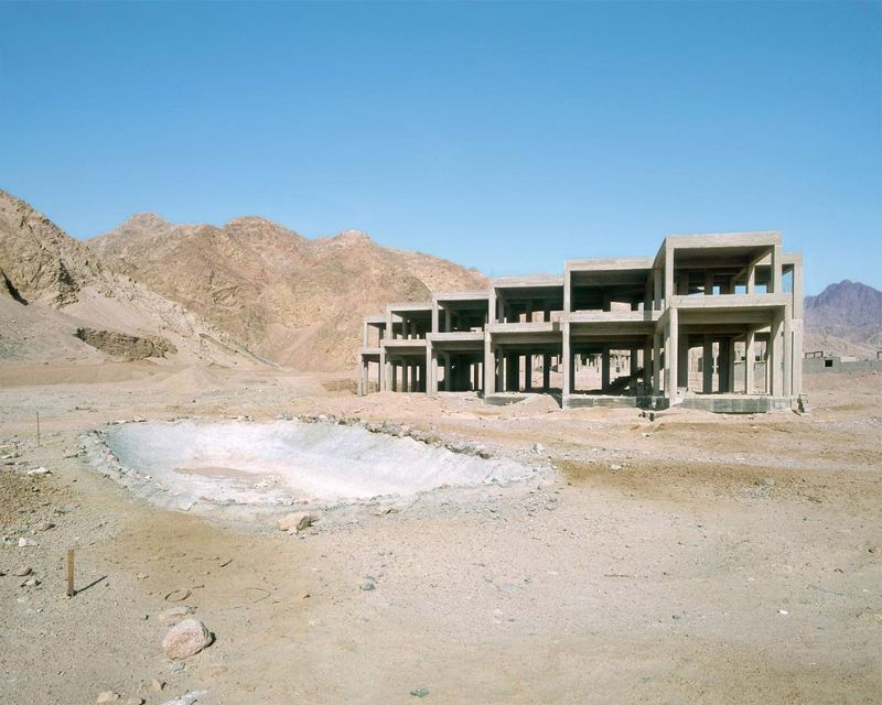 Заброшенные отели в египетской пустыне
