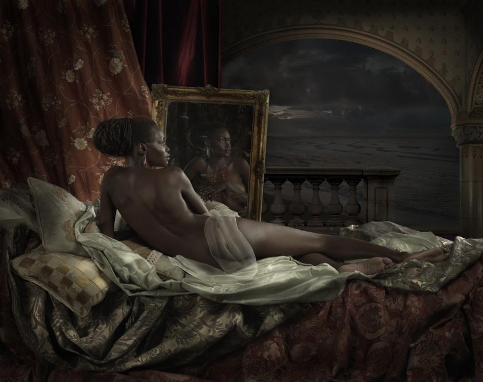 Чувственные образы девушек в серии художественных фотографий