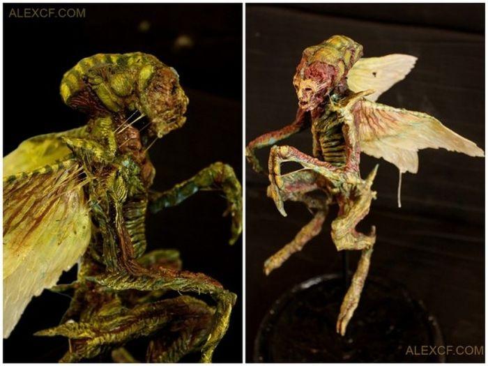 Оригинальная коллекция макетов тел мифических существ