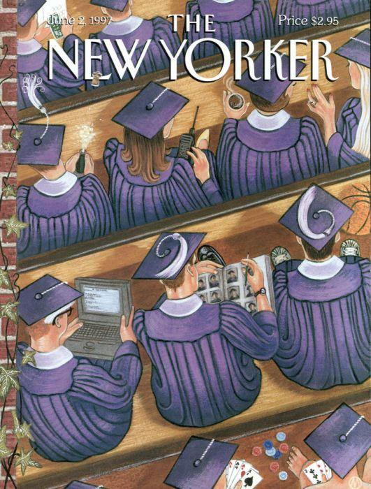 Журнал The New Yorker подшутил над выпускниками колледжей