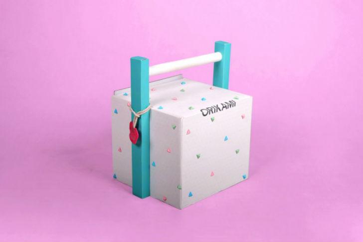 Креативные дизайнерские упаковки