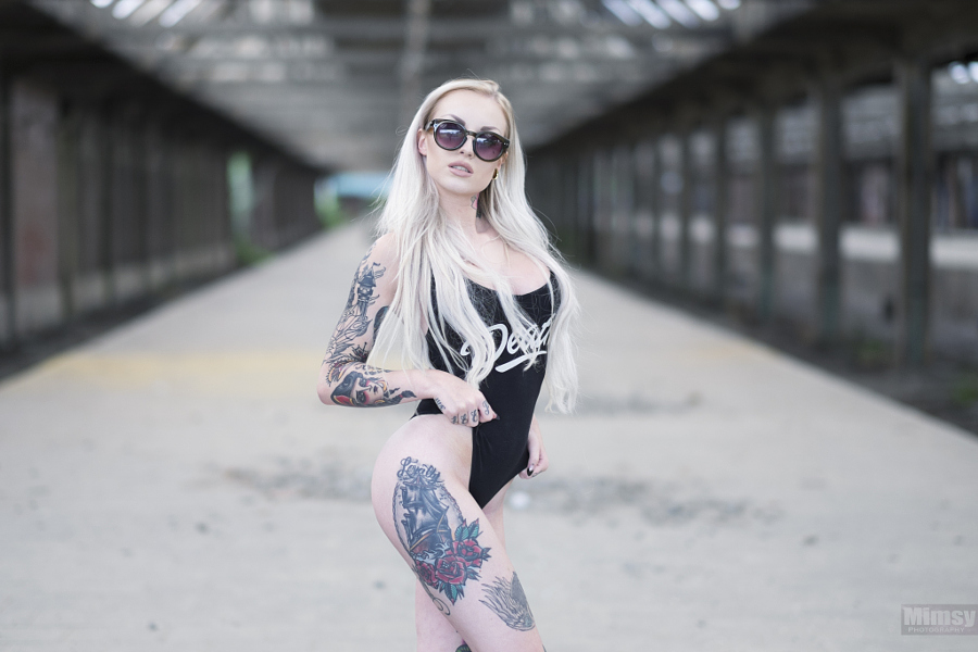 Портреты людей с татуировками