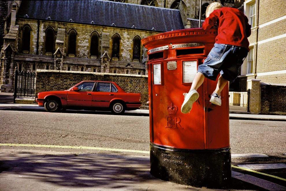 Живой и естественный Лондон на плёночных снимках от Мэтта Стюарта