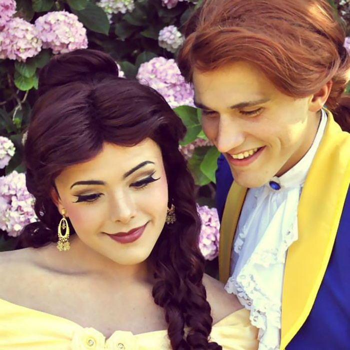 21-летний визажист превращает себя в диснеевских принцесс