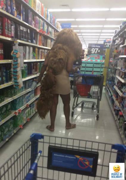 Американские фрики из супермаркетов
