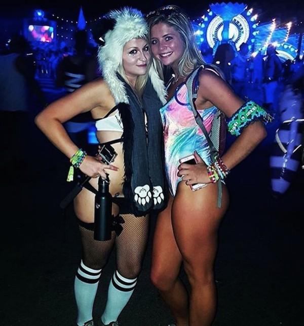 Горячие девушки на Electric Daisy Carnival