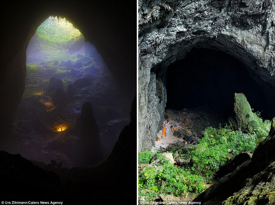 Как выглядит Шондонг - самая большая пещера в мире