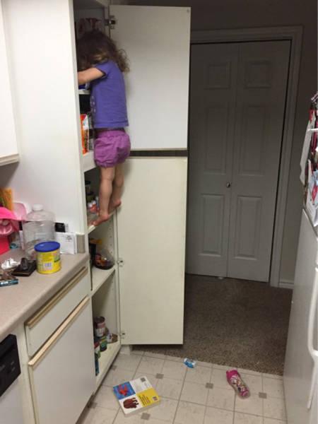 Когда дети остаются без присмотра