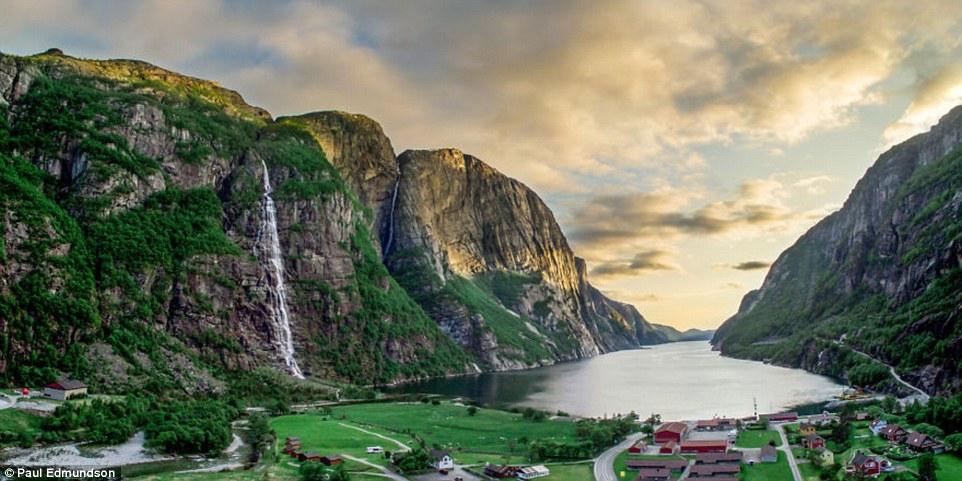 Красота норвежских фьордов от британского фотографа