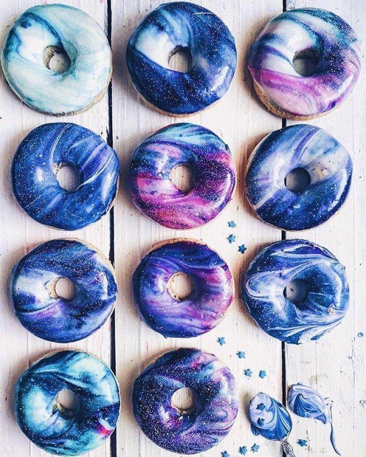 Галактические пончики для веганов