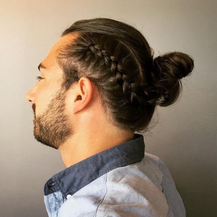Теперь мужчины тоже носят косы