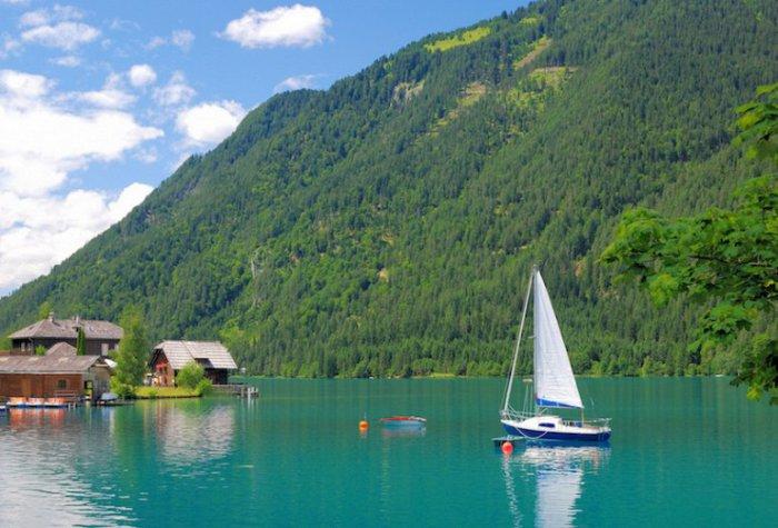 12 самых живописных озёр Австрии