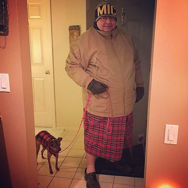 Модные папы в Инстаграме
