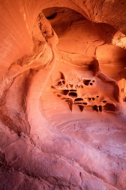 Сюрреалистические пейзажи в пустынях США