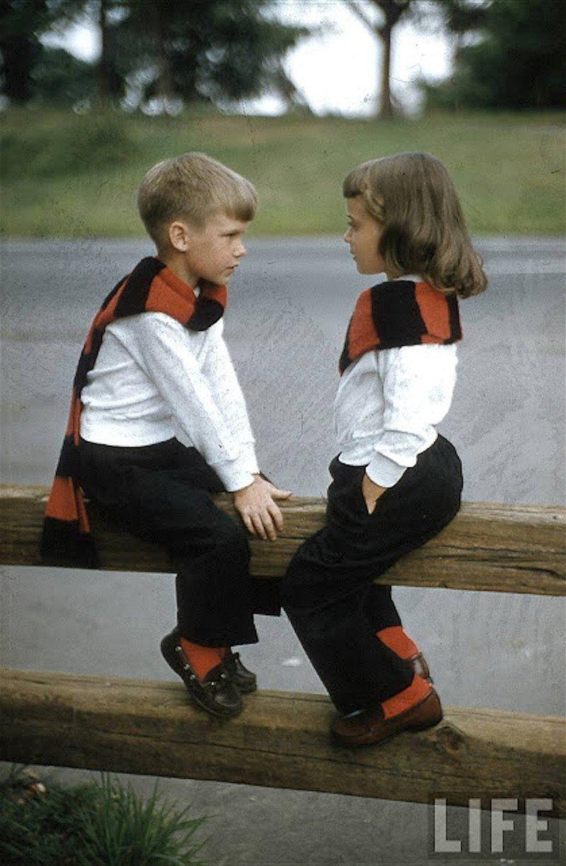 Детская мода 50-х в объективе Нины Лин
