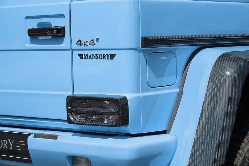 Mercedes-Benz G500 44 в исполнении Mansory